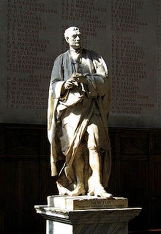Muerte de un genio - Newton