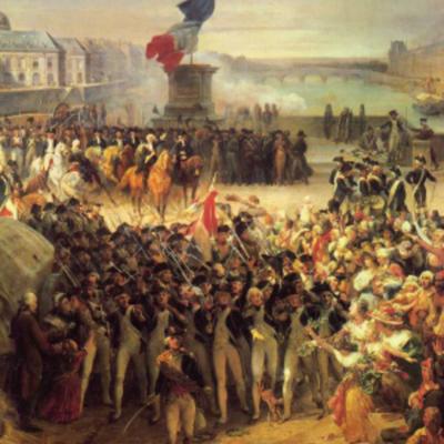 Eix cronològic Revolució Francesa timeline