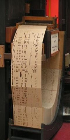 Tarjetas Perforadas -- German Hollerith