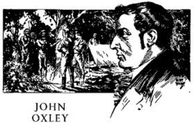 Birth of John Oxley