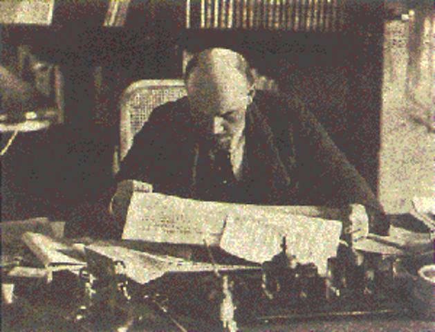 El tratado de Brest-Litovsk.