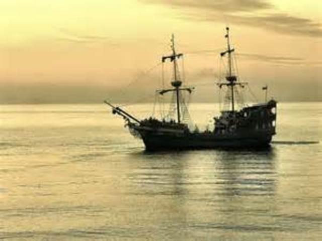 Ship comes