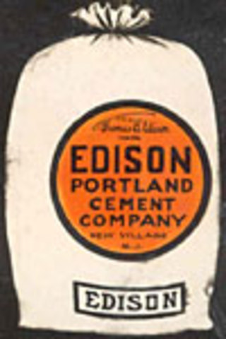 Age 43 - Edison and the Cement business