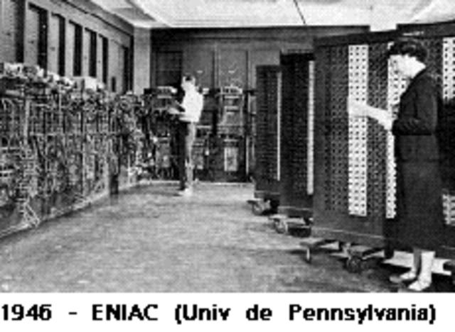 Eniac -- John Mauchly y Prespert Ecker