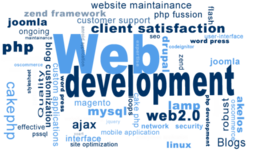 The history and development of Web timeline