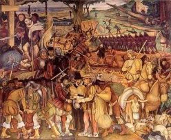 México Colonial Encomienda de Repartimientos