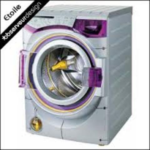 Un nouveau type de lave-linge crée pas un anglais