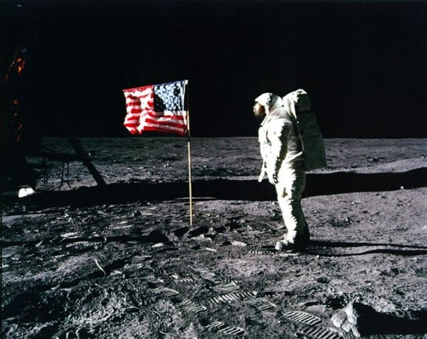 July 20, 1969: First Manned Moon Landing