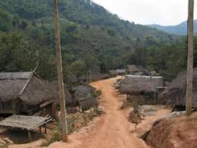 Stayed with a hill tribe in Chaing Mai, Thailand