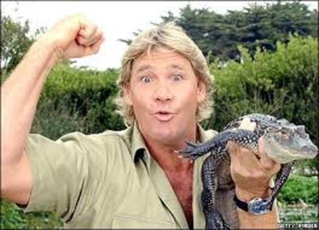 Steve Irwin dies