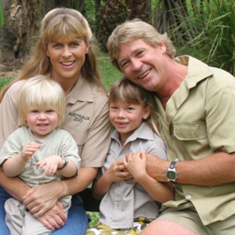 Saw the Irwin family at Ausralia Zoo