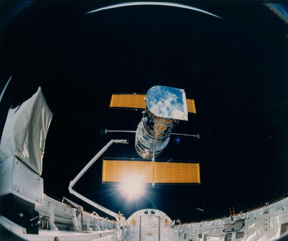April 25, 1990: Hubble Space Telescope Deployed