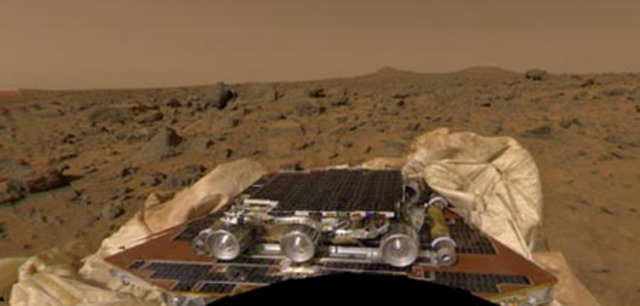 July 4, 1997: Pathfinder Probe Landing on Mars