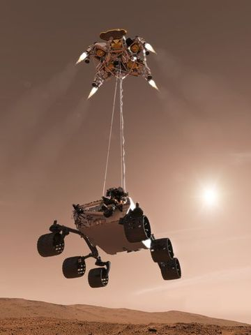 January 25, 2004: Opportunity Rover Landing on Mars