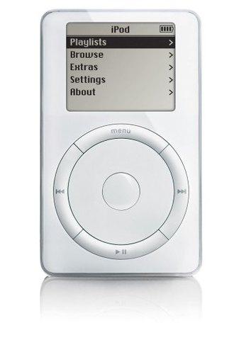 Apple first iPod