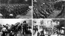 Primera y Segunda Guerra Mundial timeline