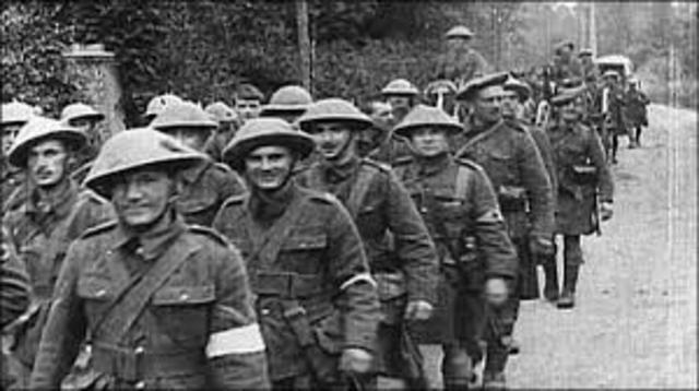 World War 1: 28 July 1914 and lasted until 11 November 1918.