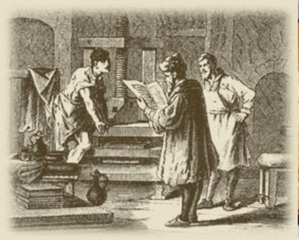 Первая газета