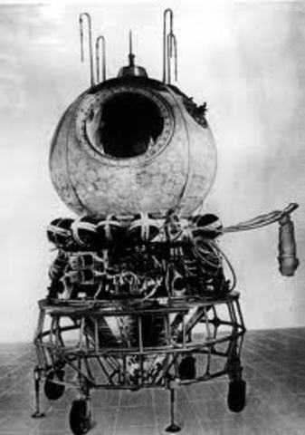 First man was put in space in the Vostok I