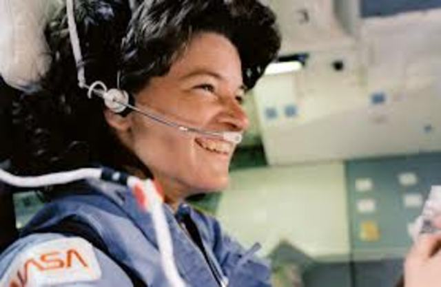 Sally Ride Timeline Timetoast Timelines