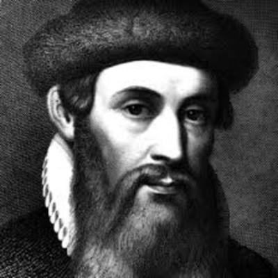 Johannes Gutenberg  timeline