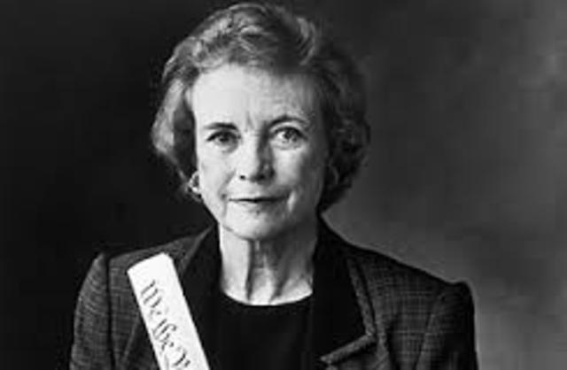 Sandra Day O'Connor becomes the first woman on the Supreme Court