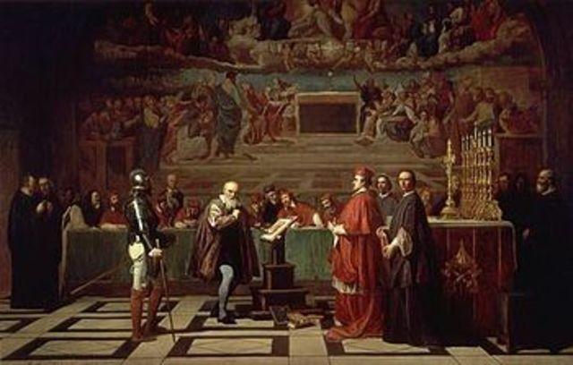 Galileo Convicted of Heresy