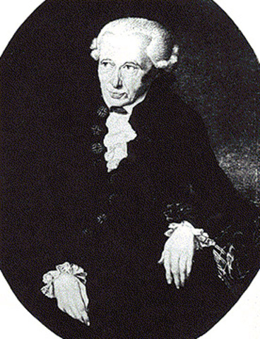 Kant discusses his hypothesis