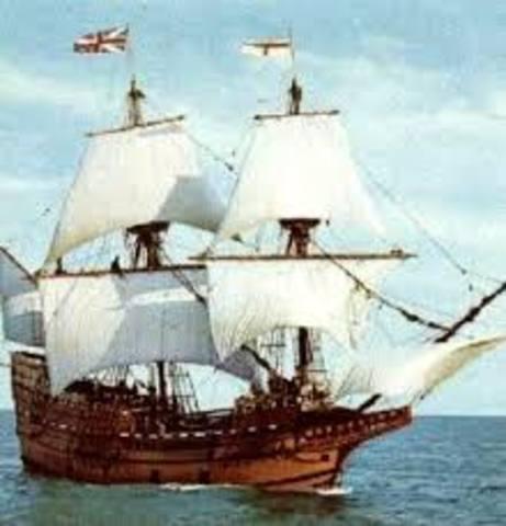 Pilgrims Arrive in North America