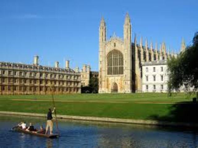 Enrolls at Cambridge University