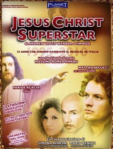 Jesus Christ Superstar @Teatro Greco - Tindari