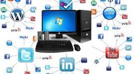 """PROCESO DE LOS COMPUTADORES Y EL INTERNET """"TICS"""" timeline"""