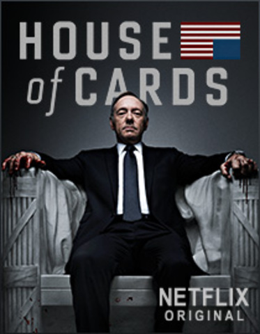 Netflix original series House of Cards launches