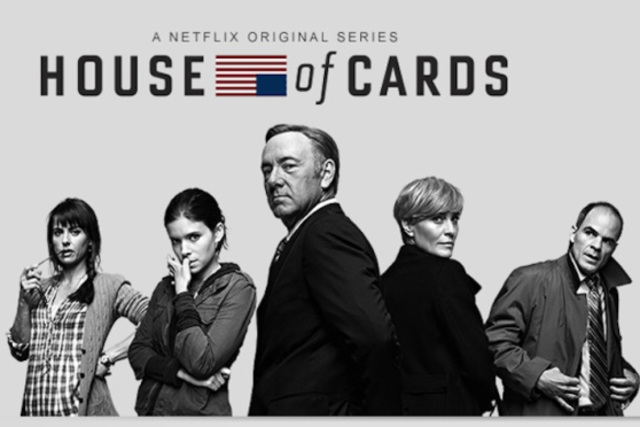 House of Cards wins three Primetime Emmy Awards
