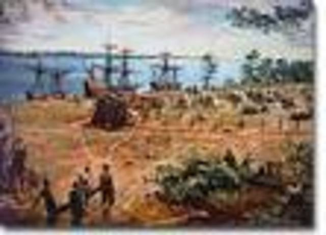 London Company Sends Ship to Jamestown