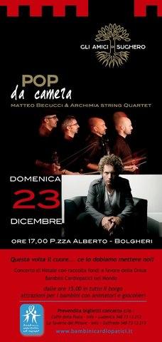 """Matteo Becucci & Archimia String Quartet """"Pop da Camera"""" @Bolgheri (LI)"""