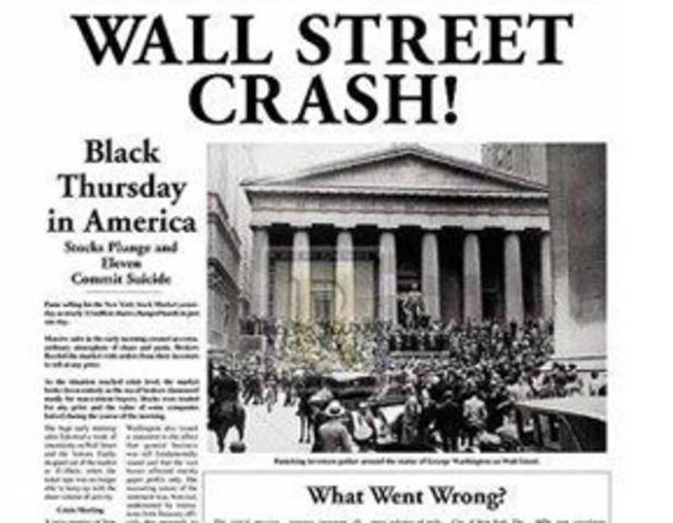 Eventi: Anniversari da ricordare Stock-market-crash-of-1929