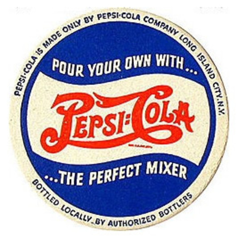 Second Pepsi Logo