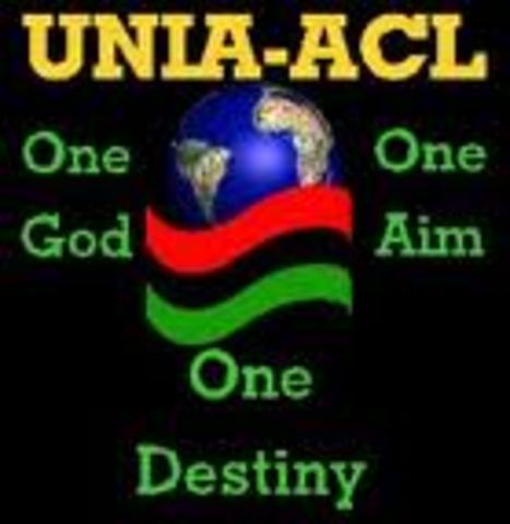 the Universal Negro Improvement Association and African Communities League
