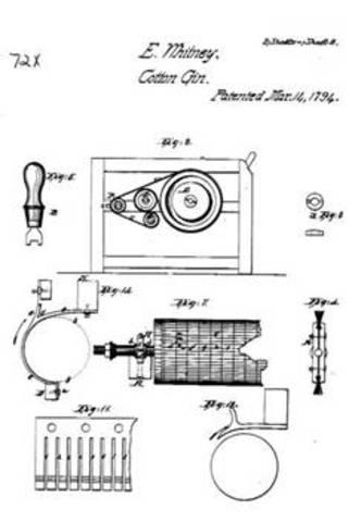 Cotton Gin Patent