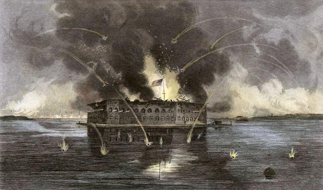 The Civil War Begins/Fort Sumter