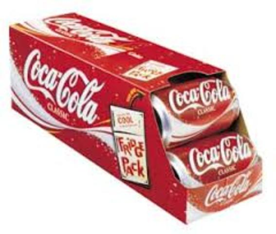 First Fridge Pack Invented