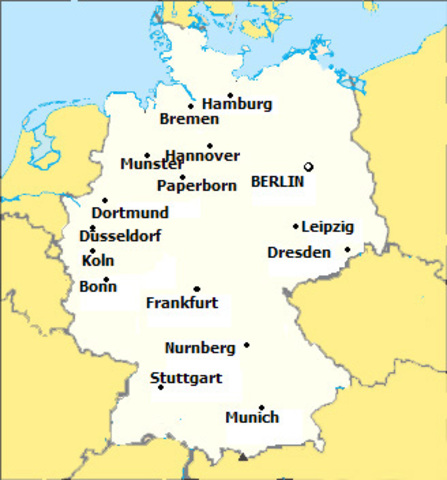 erika moved to frankfurt germany and worked as a housemaid for a family for about one year