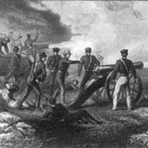 Mexican american war date in Melbourne