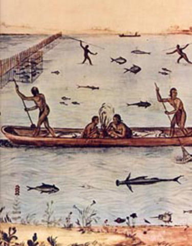 Native Americans run boats from various location of Staten Island