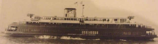Pvt. Joseph F. Merrell ferryboat enters service