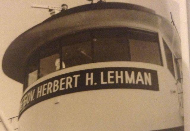 Gov. Herbert H. Lehman ferryboat launched
