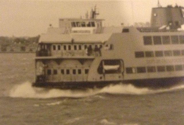 Samuel I. Newhouse takes its maiden voyage
