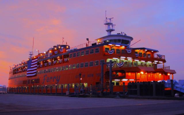 Guy V. Molinari ferryboat starts its service