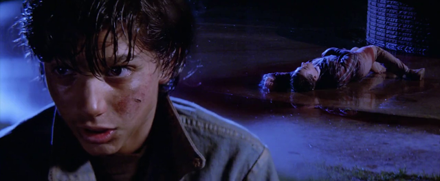 how does johnny die in the outsiders